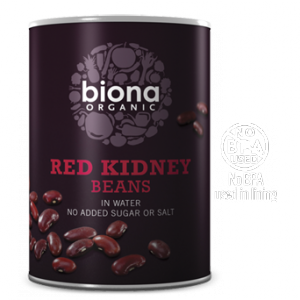 Biona Organic Canned Beans - Red Kidney - 400g