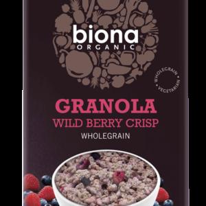 Biona Organic Granola - Wild Berry Crisp - 375g