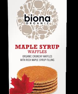 Biona Organic Waffles -Maple Syrup - 175g